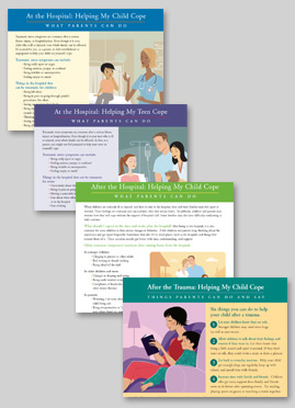 Pediatric Medical Traumatic Stress Toolkit for Health Care_patient handouts